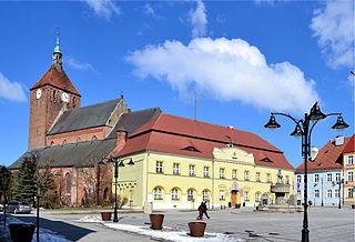 Darłowo Place in West Pomeranian Voivodeship, Poland