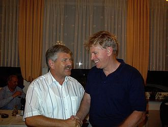 National Democratic Party of Germany - Udo Voigt and prominent American white nationalist David Duke.