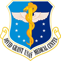David Grant USAF Medical Center emblem.png