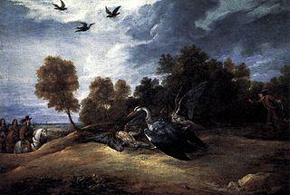 Chasse au héron avec l'archiduc Léopold-Guillaume