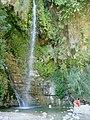 Davids Falls, Ein Gedi - panoramio.jpg