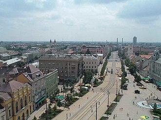 Debrecen District - Image: Debrecen látképe