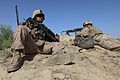 Defense.gov News Photo 100513-M-5207F-008 - U.S. Marine Corps Sgt. Steven Forrester and Lance Cpl. Ian Papworth both with Weapons Company 3rd Battalion 1st Marine Regiment 1st Marine.jpg