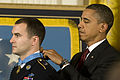 Defense.gov News Photo 101115-A-0193C-021 - President Barack Obama presents the Medal of Honor to Staff Sgt. Salvatore Giunta who rescued two members of his squad in October 2007 while.jpg