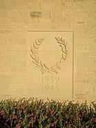 Delhi 1939-1945 War Memorial Delhi Cemetery
