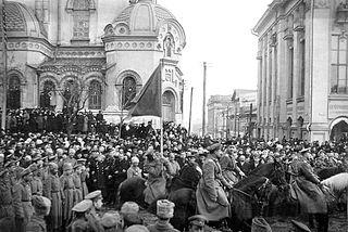 Die Februarrevolution 1917 in Charkiw