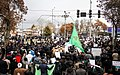 Demonstration of people of Bojnord Condemning the unrests in 2017–18 Iranian protests 03.jpg