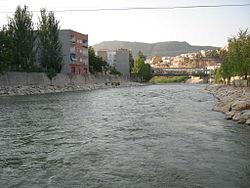 Der Fluss Segura des Dorfes Blanca.JPG