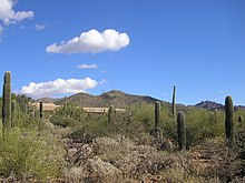 84fe0833ca78 The Arizona-Sonora Desert taken looking back towards the museum entrance