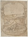 Design for a Bucket-Like Vessel with a Handle of Non-Figural Interlaces, on a Body Adorned with a River God and Two Putti. MET DP809936.jpg