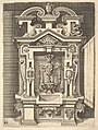 Design for a Lavabo, Plate 85 from Dietterlin's Architectura MET DP828570.jpg