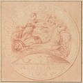 Design for a jeton or a token- Maison de la Reine 1740 MET DP219058.jpg