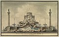 Design for the Fireworks Display in Paris for the Birth of the Dauphin in 1781.jpg