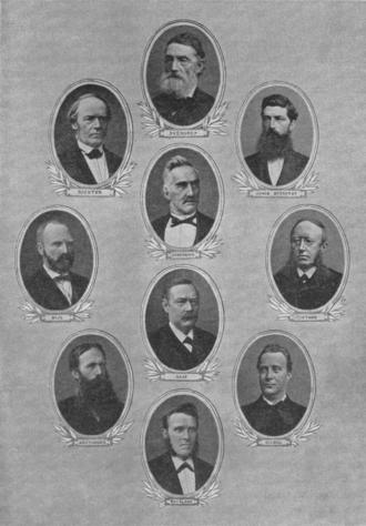 Johan Sverdrup - Sverdrup's ministry
