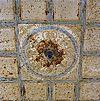 detail van het plaatijzeren plafond in de voormalige synagoge te lochem - lochem - 20277483 - rce