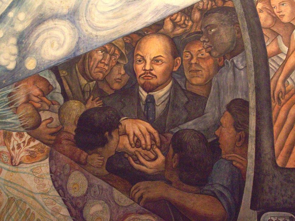 Detalle de Lenin