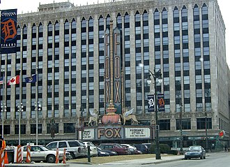 Olympia Entertainment - The Fox Theatre has the headquarters of Olympia Entertainment