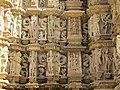 Devi Jagdambi Temple Khajuraho - Outer Wall 03.JPG