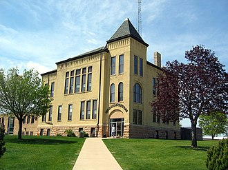 Dickinson County Courthouse (Iowa) - The former Dickinson County Courthouse in 2006