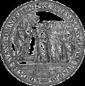Dictionarium Annamiticum Lusitanum et Latinum, Propaganda Fide seal.png