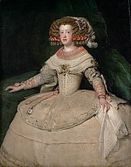 Portrait of the Infanta Maria Theresa of Spain