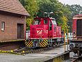 Diesellocomotief D5, type DE 500 der Bentheimer Eisenbahn AG - Bhf Bad Bentheim - Deutschland (21809831168).jpg