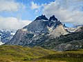 Different colored Rocks Torres Del Paine National Park Chile.jpg