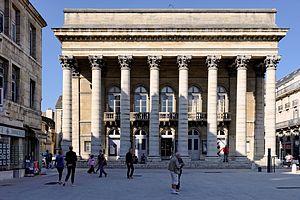 Opéra de Dijon - The Grand Théâtre de Dijon, built in 1828 and one of Opéra de Dijon's two main performance venues