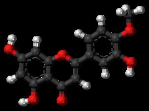 Diosmetin - Image: Diosmetin molecule ball
