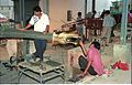 Diplodocus in Making - Dinosaurs Alive Exhibition - NCSM - Calcutta 1995 460.JPG