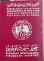 Diplomatic passport of Algeria.png