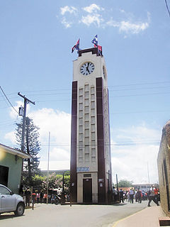 Diriamba Municipality in Carazo Department, Nicaragua