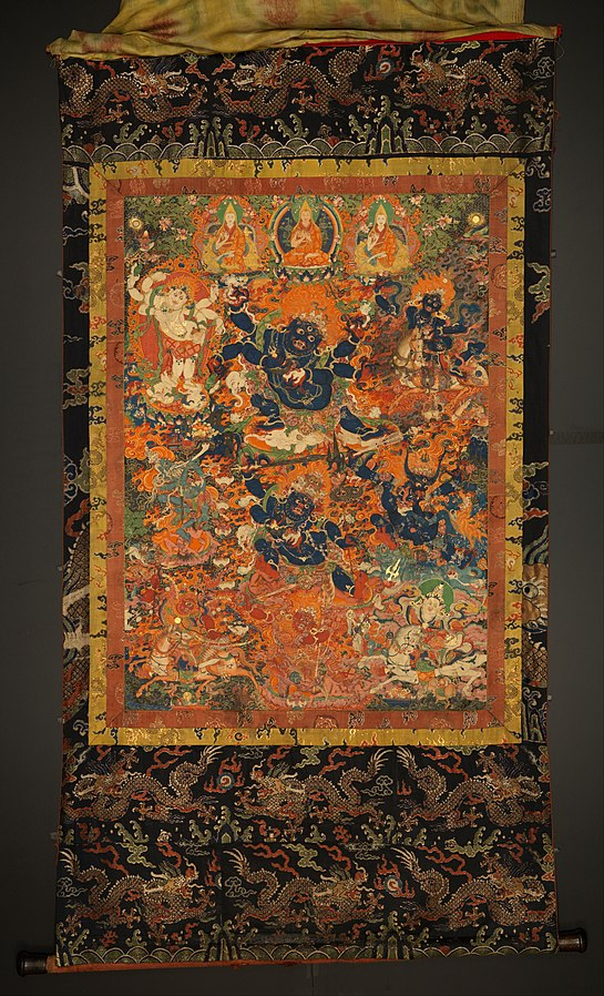 Diverse Forms of Mahakala and other Protectors