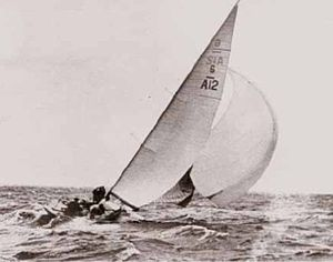 Sailing at the 1948 Summer Olympics – 6 Metre - Image: Djinn 1948
