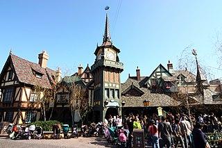 dark ride at Disney theme parks