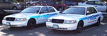 Dobbs Ferry PD cars 908 and 905, autumn 2006.jpg