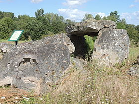 Image illustrative de l'article Dolmen d'Amenon