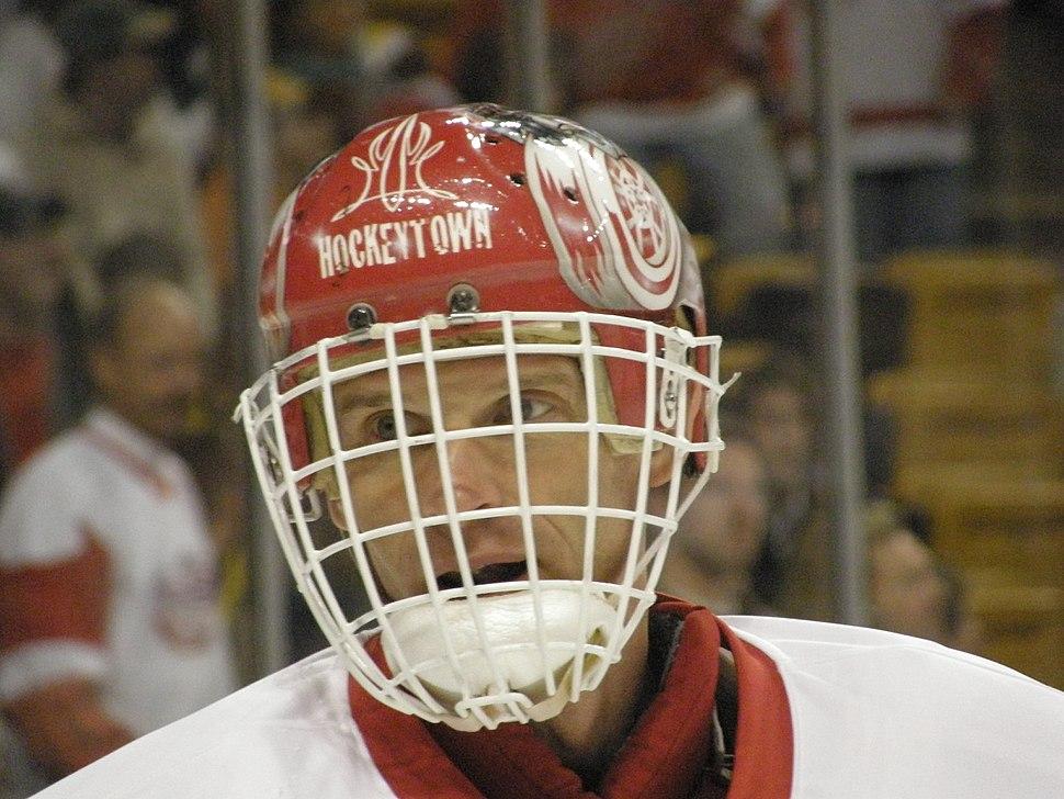 Dominik Hasek face