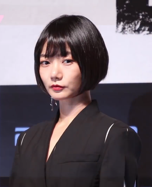Bae Doona - Doona Bae during the promotion of her 2016 film The Tunnel.