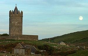 Doonagore Castle - Doonagore Castle from the SW