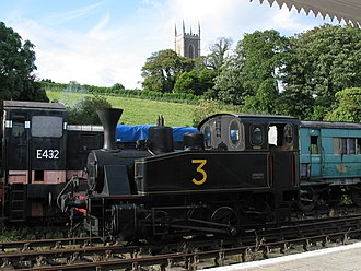 Downpatrick and County Down Railway - Image: Downpatrick Nummer 3 (1)