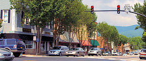 Downtown Brevard North Carolina