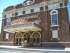 DeLand, Florida - Athens Theater, built in 1921