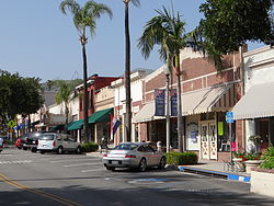 Central Avenue in downtown Fillmore