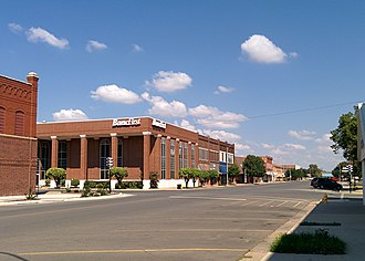 National Register of Historic Places listings in Kiowa County, Oklahoma - Image: Downtown Hobart Historic District
