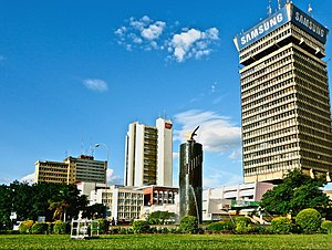 Downtown Lusaka Skyline