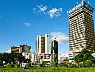Lusaka City in Lusaka Province, Zambian Kwacha
