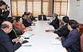Dr. Jitendra Singh holding a meeting with the Resident Commissioners of eight Northeast States.jpg