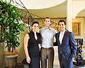 Dr. Parmis Khatibi & Dr. Nikan Khatibi & US Congressman Tom Cotton.jpg