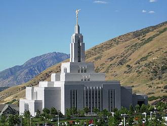 Draper, Utah - The Draper Utah Temple.